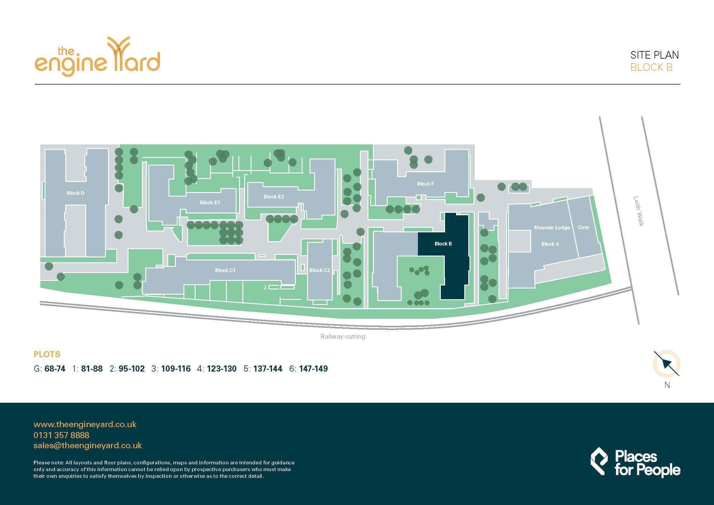 The Engine Yard site plan