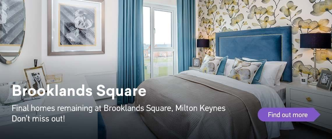 Final homes remaining at Brooklands Sqaure, Milton Keynes